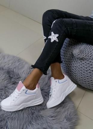 Сникерсы,кроссовки,белые кроссовки,белые сникерсы,кроссовки танкетка