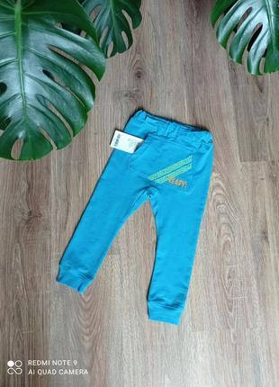 Плотные (двунить) спортивные штаны-джогеры