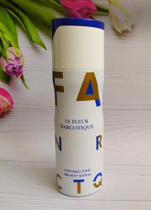 Дезодорант-спрей fragrance world le fleur narcotique