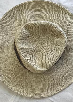 Широкополая шляпа nine west