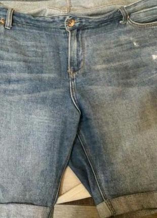 Джинсовые шорты большого размера
