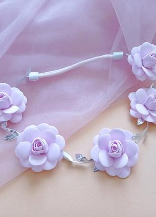 Повязка для девочек,повязка для новорожденой,на день рождения