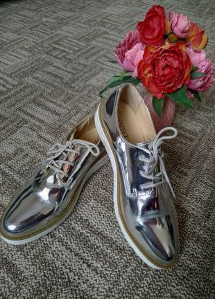 Зеркальные туфли
