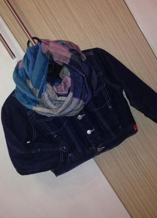 Ну дужже крута джинсовка+шарф(в подарунок)