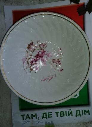 Тарелки суповые салатницы пиала 3 шт