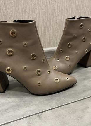 Ботильоны ботинки сапоги