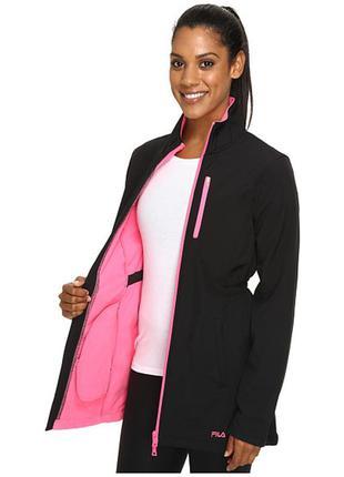Женская спортивная куртка (пальто) fila get wet bonded jacket. sм(42)