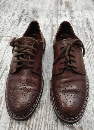 Туфли броги christian by carlo, италия, 40