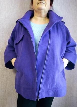 Классное полупальто, пальто, куртка размер 62-642 фото