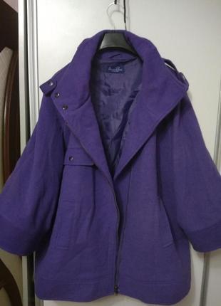 Классное полупальто, пальто, куртка размер 62-645 фото