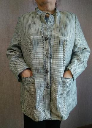 Лёгкое пальто, кардиган, пиджак, размер 60-622 фото