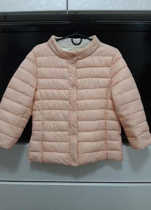 Ультра легкий пуховик, пуховичек куртка (на кнопках, рукав 3/4) amisu р.42-44-46 (36)