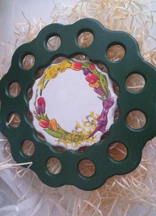 Куличница.подставка под паску и яйца