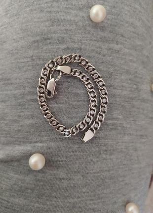 /серебряный браслет с камнями/ браслет/ серебро/ аксессуар