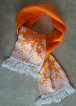 Тёплый шарф 145 × 17,5 см