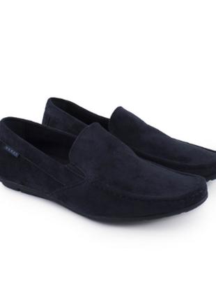 Мужские туфли эко замшевые замш замша чоловічі туфлі еко замшеві синие сині балетки