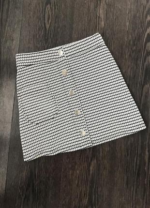 Фактурная юбка pull&bear