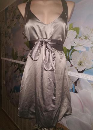 Щелковое платье asos 14р