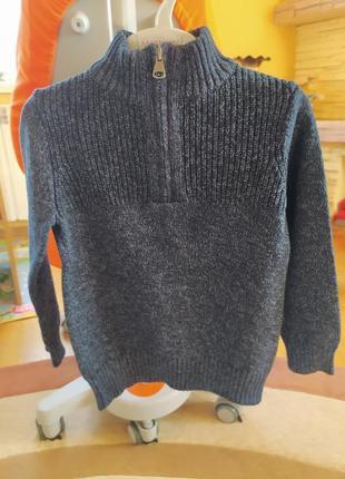 Теплый свитер под горло palomino 110-116 р. идеал. сост