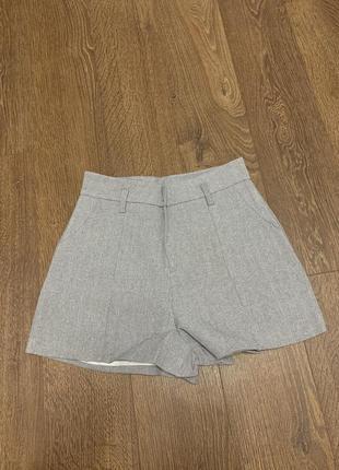 Шорты короткие женские, стильные короткие шорты с завышенной талией