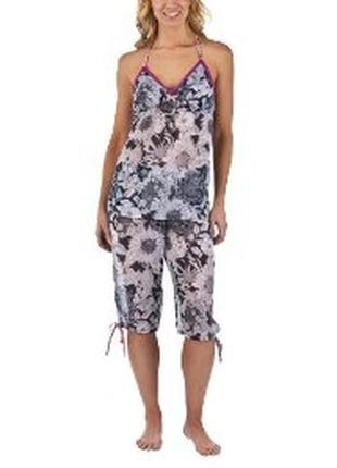Легкая полупрозрачная пижама, комплект