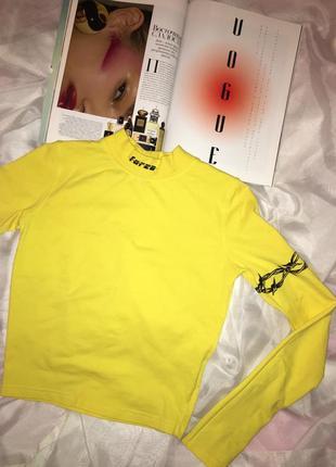 Желтая водолазка wastedparis