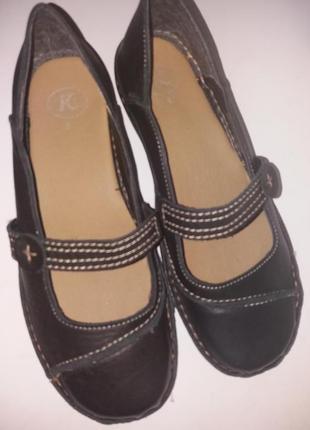 Мегаскидка! мягкие и легкие кожаные весенние женские туфли clarks 5р (38)
