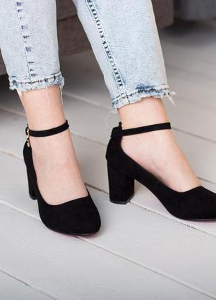 Туфли с ремешком,туфли на ремешке,туфли на невысоком каблуке,туфли средний каблук