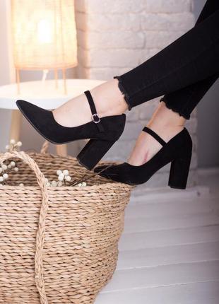 Чёрные туфли,туфли с ремешком,туфли ремешки,туфли,лодочки