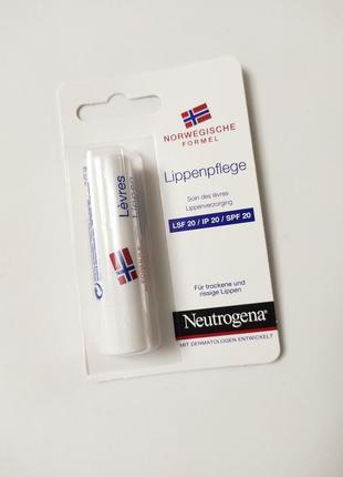 Защитная гигиеническая помада neutrogena spf 20