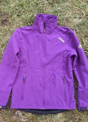 Жіноча демісезонна софтшел куртка sherpa