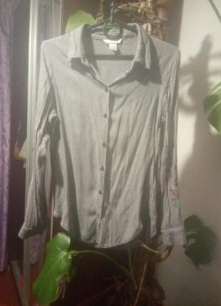Рубашка лёгкая