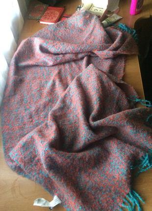 Огромный уютный и очень тёплый шарф