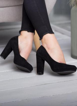Классические туфли,туфли чёрные,чёрные туфли,туфли на каблуке,туфли