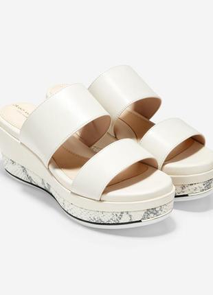 Cole haan grand ambition flatform slide sandal босоножки 39 р.