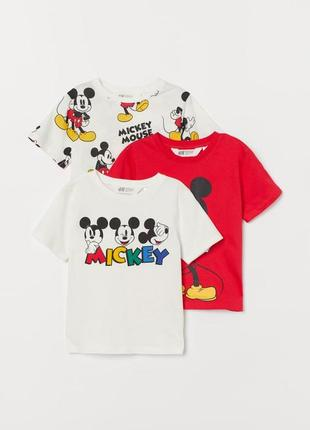 Крутые футболки с микки, коллекция 2021 (1 шт)