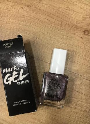 Лак для нігтів «гель-ефект» perfect light/ перлинне світло 10 ml