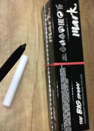 "Водостойкий карандаш для глаз avon mark ""акцент  цвета""deep brown"
