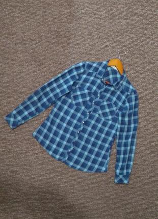 Хлопковая рубашка в клетку lcw casual