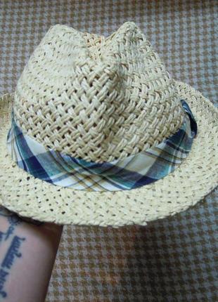 Соломенная шляпа от h&m