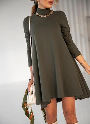 Женское свободное платье есть разные цвета и размеры