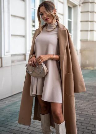 Женское свободное платье есть все цвета и размеры