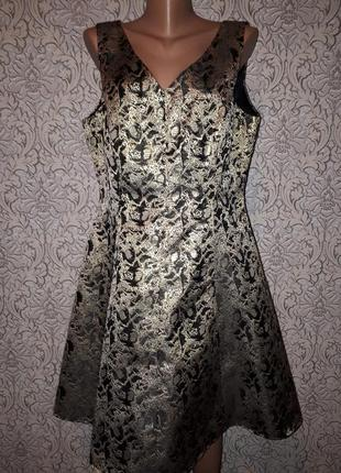 Платье парча