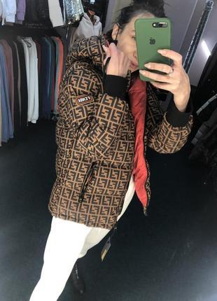 Лого фенди италия 🇮🇹 куртка курточка