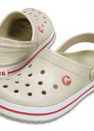 Сабо crocs crocband, w8, w9, w10, w11