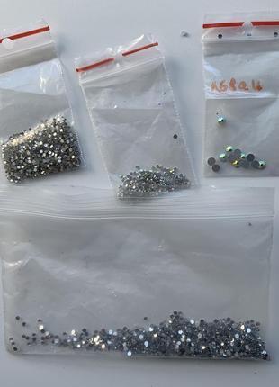 Набір камінчики для нігтів, і прості, набор камешки для ногтей, swarovski, и простые.