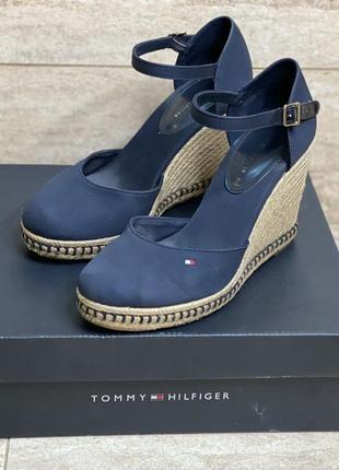 Босоножки туфли tommy hilfiger