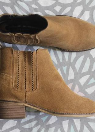 Английские замшевые ботинки челси от falmer