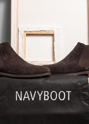 Челси navyboot, португалия 42 43 кожаные ботинки классические туфли сапоги