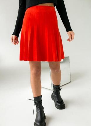 Красива ефектна коротка юбка, спідниця польша